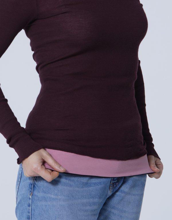 Haramaki Happy Belly Reversible Pink/Black